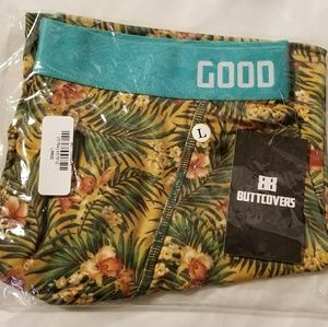 Tropical Paradise  Boxer Brief Large Butt Covers